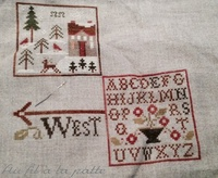 SAL Weathervane de Little House Needleworks : 3ème objectif