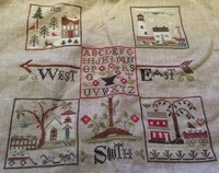 SAL Weathervane de Little House Needleworks : 8ème objectif